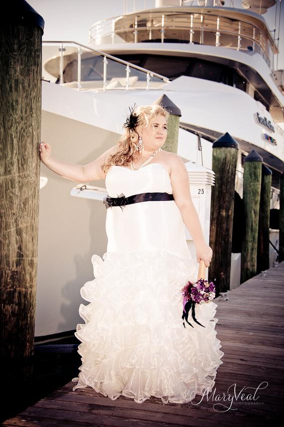 Key West Boat Wedding Photographer