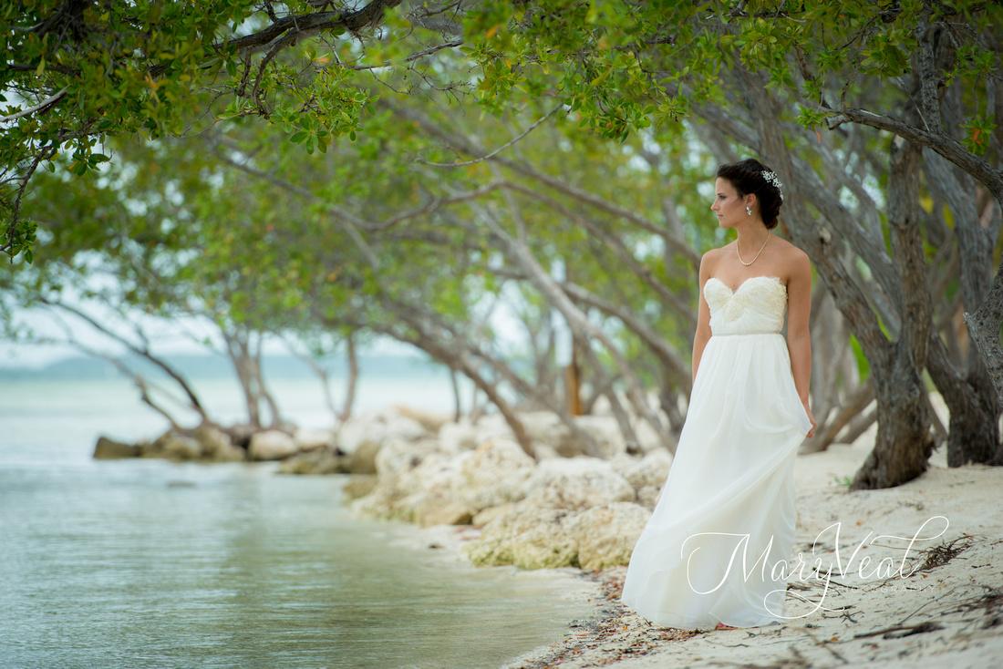 Bridal Portrait in Florida Keys