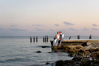 Katie + Eric's Wedding ~ Southernmost House