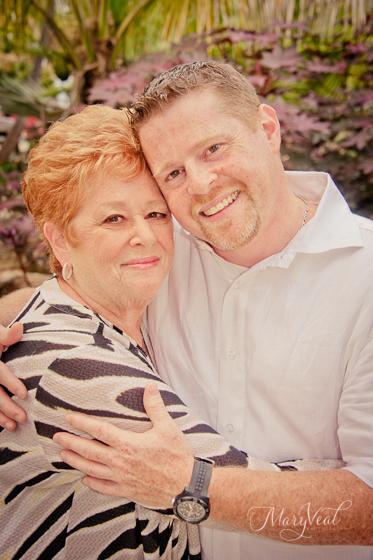 Mother and Son Key West Wedding Photography