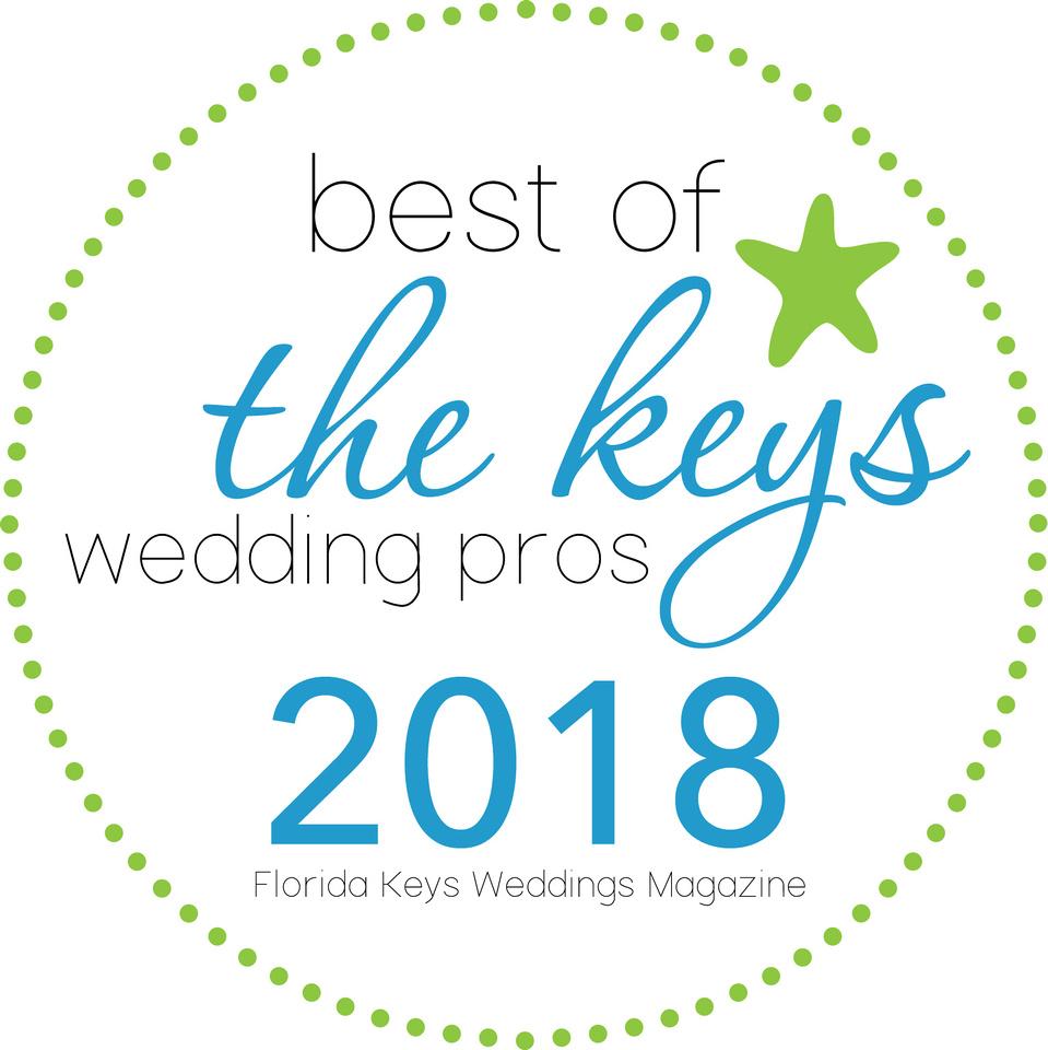 Best of the Florida Keys Wedding Pros Award 2018
